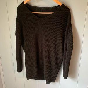 🖤 3/ $10 Slouchy black sweater
